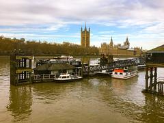 South Bank, River Thames, London, England
