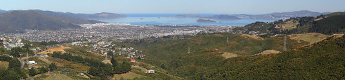 The Hutt Valley and Wellington Harbour