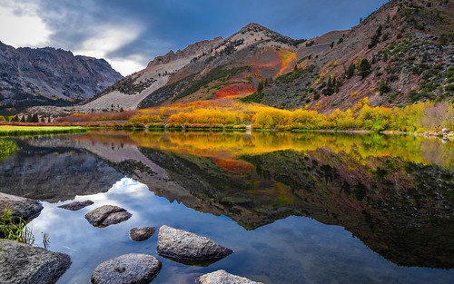October Colours at North Lake in the Eastern Sierra.