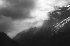 Chamonix cloudscape