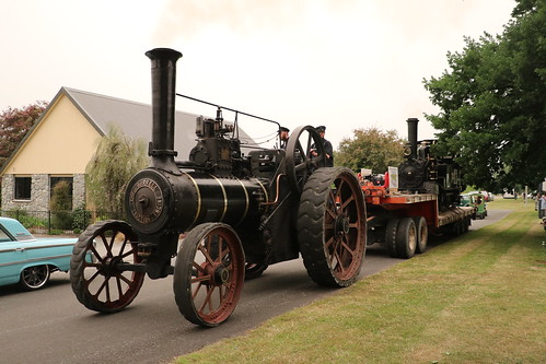 Burrell Traction Engine