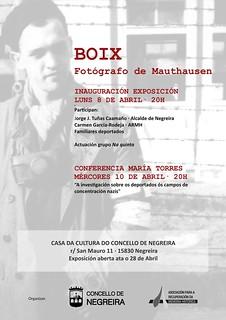 Exposición y actos sobre Francesc Boix