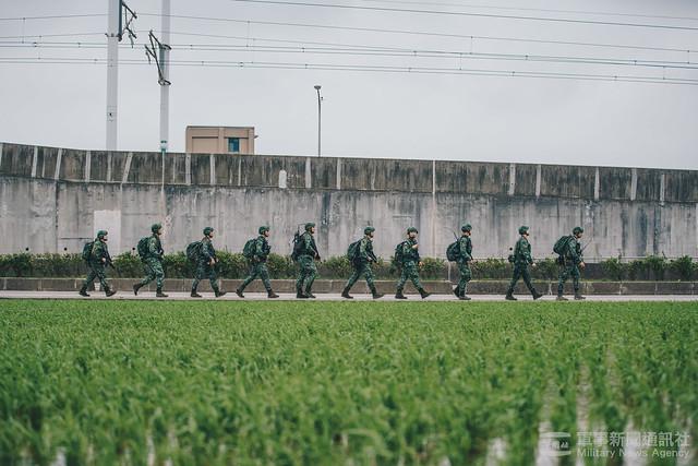 戰備訓練週行軍訓練20200323