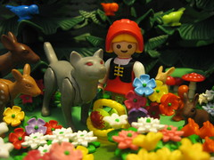 Little Red Cap (Little Red Riding Hood) - A Playmobil Faerie Tale