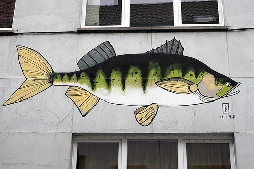 Street Art Ghent, Belgium (Peter Perch)