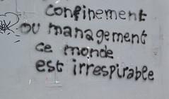 Confinement ou management... 44ème jour de confinement. Montreuil. 29 avril 2020