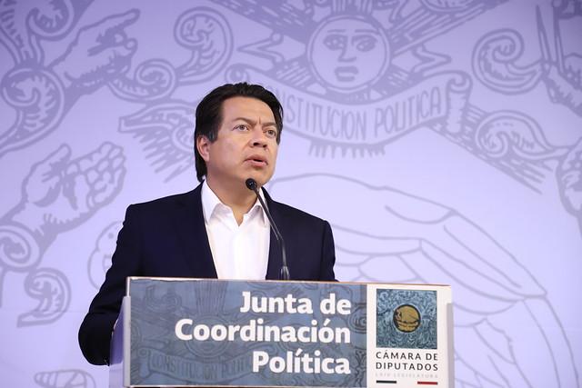 11/02/2019 Conferencia JUCOPO Dip. Mario Delgado