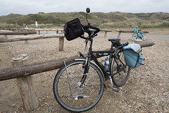 Cycle trip to the sea
