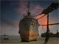 stranded boats-Mauritania