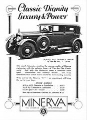 1930 Minerva Limousine by Van den Plas of Brussels