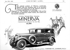 1929 Minerva 32 Enclosed Drive Limousine