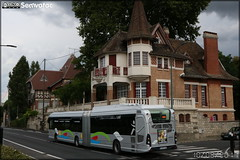 Heuliez Bus GX 437 Hybride – Cars Lacroix / STIF (Syndicat des Transports d'Île-de-France) – Le Parisis n°1050