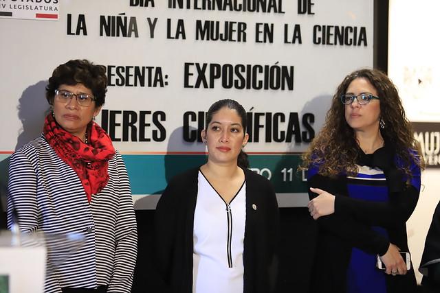 11/02/2019 Exposición Mujeres Científicas
