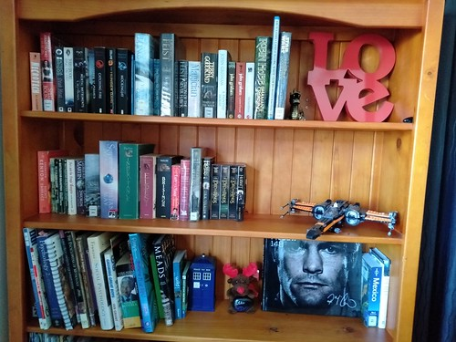 Librarian shelfies, Karen from Ōrauwhata: Bishopdale Library and Community Centre