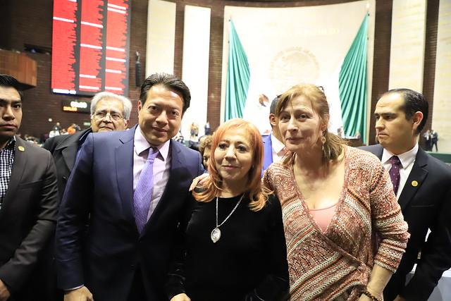 12/02/2019 Sesión Solemne / Otorgan Medalla Eduardo Neri a Rosario Ibarra