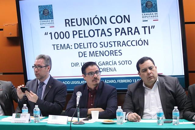 "13/02/2019 Reunión ""1000 pelotas para ti"" Dip. Ulises García"
