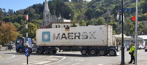 Port Chalmers New Zealand.