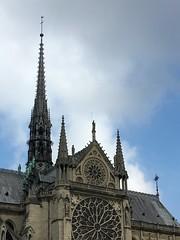 Paris   France  ~  Notre-Dame Cathedral  ~ Cathédrale Notre-Dame de Paris ~ Pinnacle - Spiral Spire