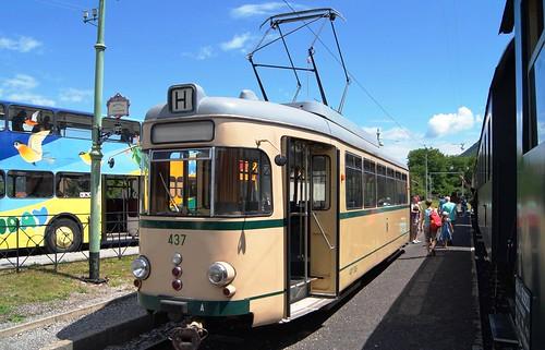 SSB 437 (ex 436 [II] ex 437; ex Wesel-Rees 8; DÜWAG 1961; Großraumwagen)