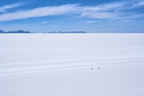 Social Distancing - Salar de Uyuni, Bolivia