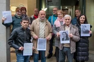 2020 Enero. Presentación de denuncias de deportados de Pontevedra (Vigo)