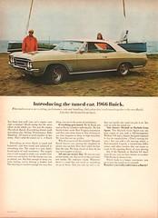 1966 Buick Skylark Gran Sport Advertisement Sports Afield December 1965