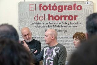Presentación en Ourense de los casos de deportados españoles a campos de concentración