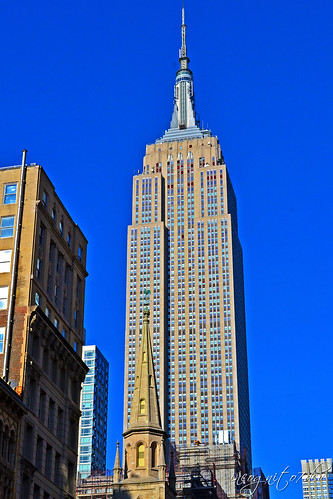 Empire State Building ESB 29th St & 5th Ave Midtown Manhattan New York City NY P00513 DSC_0947