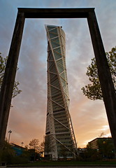 Turning Torso framed and ready