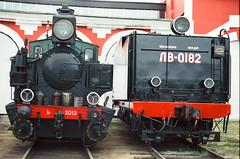 Series Ъ +Locomotive tender ЛB-0182