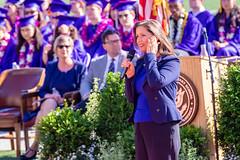Oakland Mayor Libby Schaff, Piedmont High School Graduation, 2019