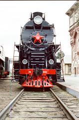 Soviet main freight Steam Locomotive Lw