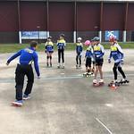 2020, vanaf 29 april eerste jeugd skeelerlessen tijdens corona periode