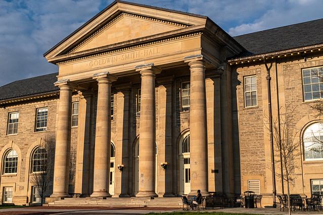 Photo:Goldwin Smith Hall, Cornell University, Ithaca, NY By frankie14850