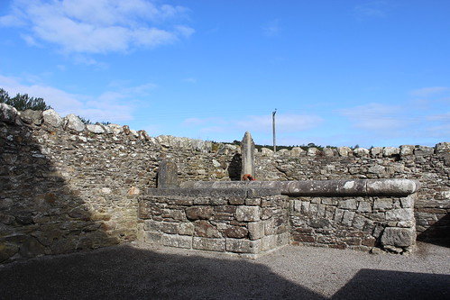 Grave at Baltinglass Abbey
