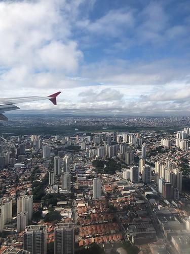 São Paulo in the sky