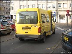 Renault Master – STRAN (Société des TRansports de l'Agglomération Nazairienne) n°873