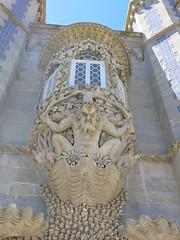 Balcony at the Pena Palace