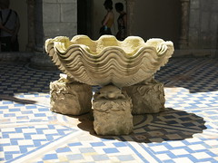 Shell statue at the Pena Palace