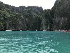 Maya Bay- the Hollywood movie The Beach was filmed here