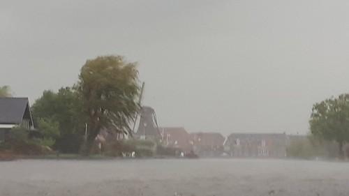 Heavy rainfall, Woudsend