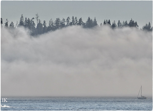 Sailboat in Mist (Explore #368, May 1, 2020) ...