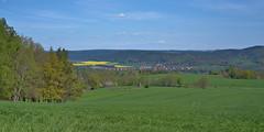 Saale Valley in Spring