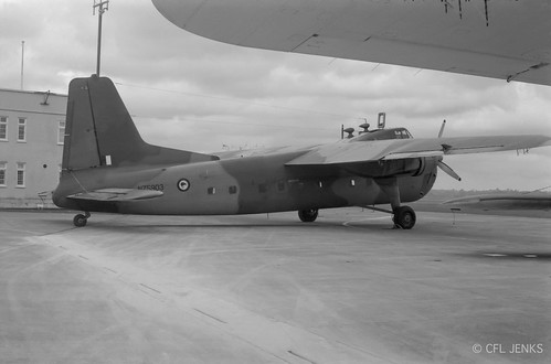 18 December 1975, RNZAF 1 Squadron Bristol Freighter NZ5903 at Whenuapai