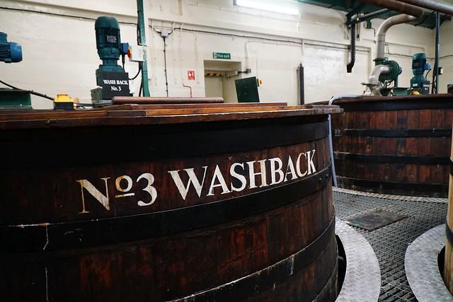 Washbacks Oban Distillery