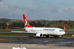 Boeing 737-8F2 of Turkish Airlines
