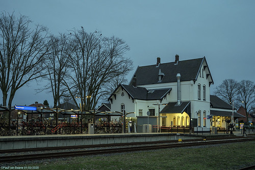 Boxmeer - station, 01-03-2020