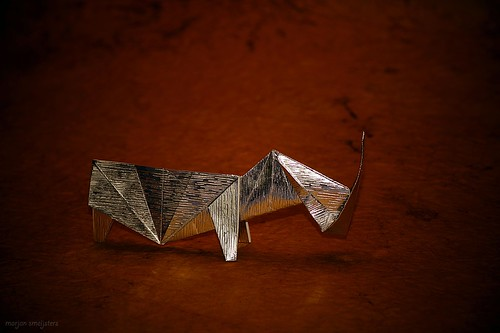 Origami Rhinoceros (James Sakoda)