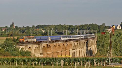 BB 26025 Train 29482 Lourdes-Strasbourg à Ballersdorf
