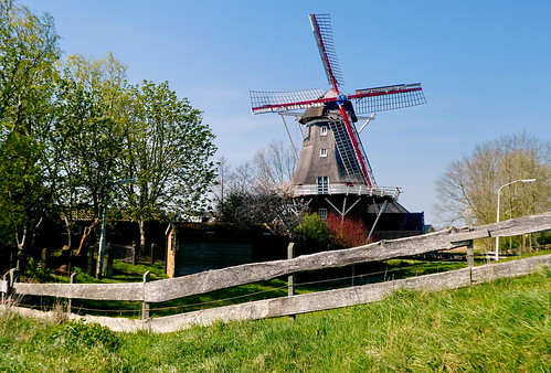 Mühle in Munnekezijl, Rust Roest
